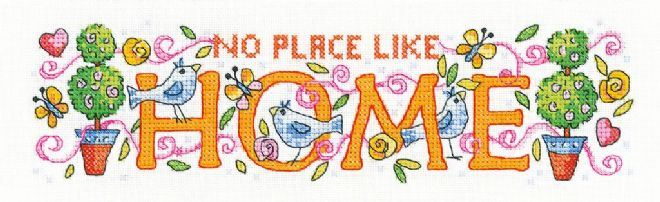 Home from  Karen Carter Collection Cross Stitch Kit